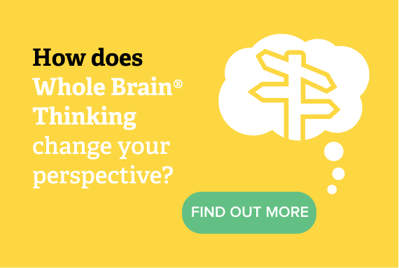 How does Whole Brain Thinking change your perspective?
