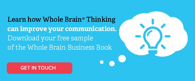 Click this button to download a free sample of the Whole Brain Business Book