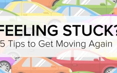 Stuck in a rut? 5 tips to get moving again