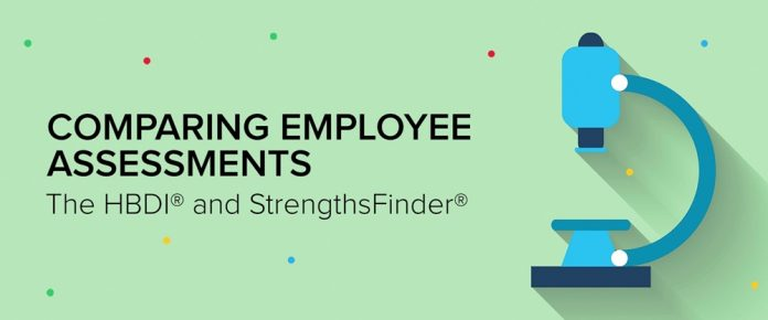 Comparing Employee Assessments: HBDI and StrengthsFinder
