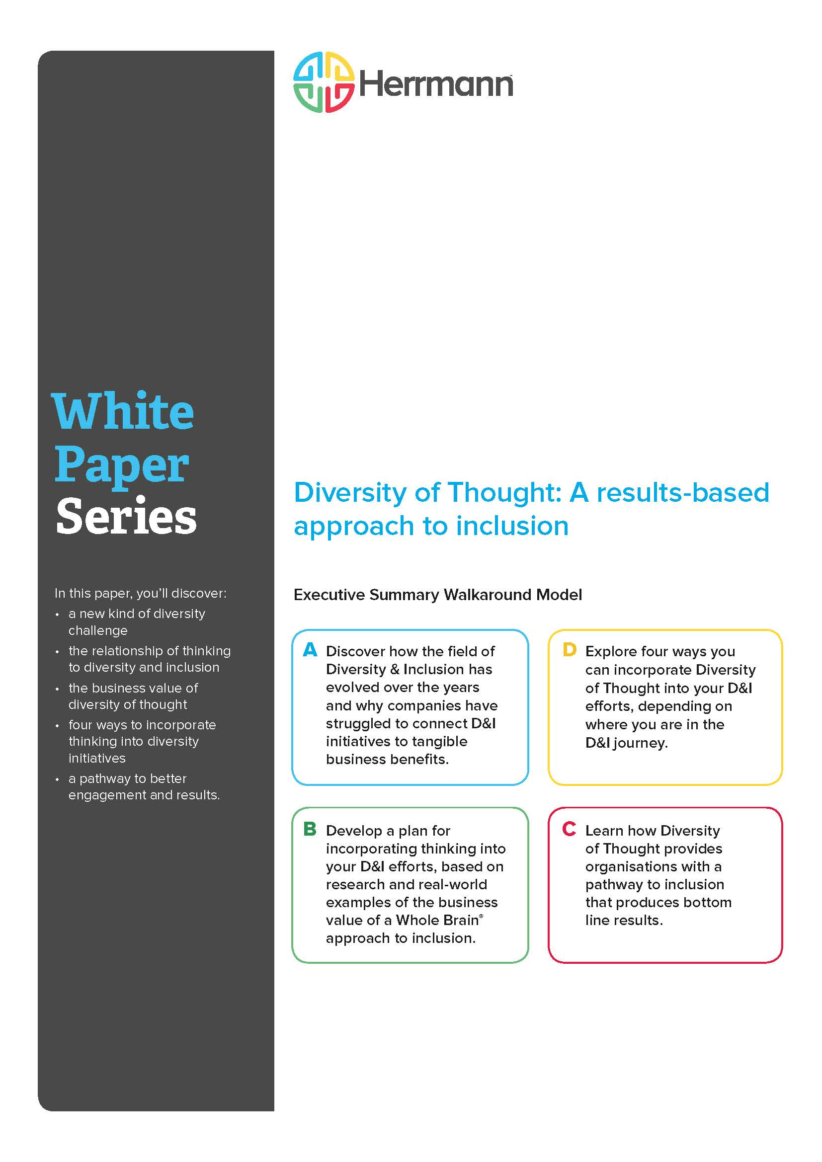 White Paper - Diversity Of Thought